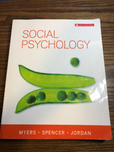 Social Psychology  Sixth Canadian Edition - Myers - PSYCH 2120