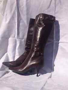 New Leather Nine West Boots Cambridge Kitchener Area image 1