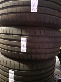 235 45 17 part worn tyres matching Michelins used tires