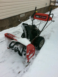 """10 HP/30"""" wide,gas powered Snow Blower(Snow King)"""