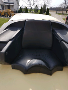 4 wheeler trunk and buddy seat