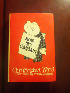 How to complain byChristopher Ward HC 1974