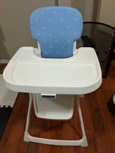 Fisher Price high chair with booster seat