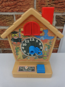 Vintage TOMY Tick Tock Teaching Clock