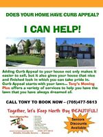 Does Your Home Have Curb Appeal? I CAN HELP!!! (Lawn Care)