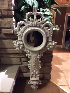 Outdoor Decor Mirror approx 3.5ft tall