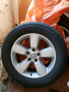 4 OEM Dodge Ram Rims and all season tires