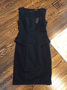 TED BAKER BODYCON PEPLUM DRESS *NEW WITH TAGS*