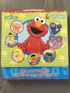 Sesame Street 6 Carry Along Storybooks - NEW