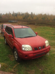 2005 Xtrail, rep front axle, both front control arms in last yr