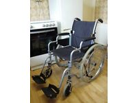 ROMA WHEELCHAIR - LIGHT USE ONLY - GOOD CONDITION £60