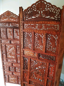 Antique Room Devider and Side Tables