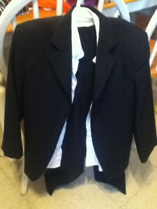 Boys Size 8 Black Suit