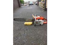 Stihl 80cc chainsaw
