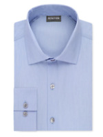3 Brand New Kenneth Cole Reaction Slim-Fit Solid Dress Shirts