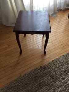 Table style vintage