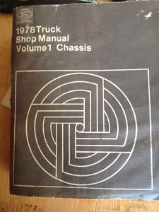 1978 Factory Ford Truck Manual