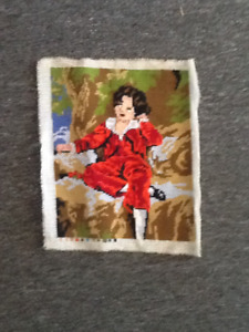 Needlepoint picture