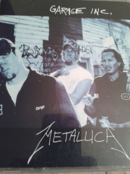 Metallica - Garage Inc 2 cd- plus 2 single cd