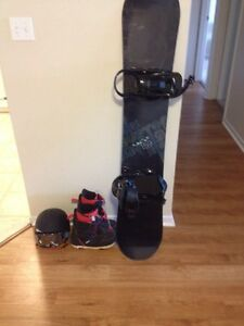 Complete snowboarding package