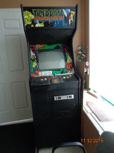 Arcade Video Game coin operated upright