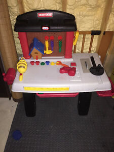 Kids craftsman little tikes workbench