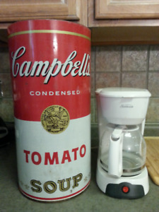 Vintage (1960's or 70's) CAMPBELL'S SOUP can