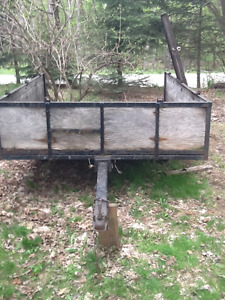 Box / Utility/ snowmobile trailer