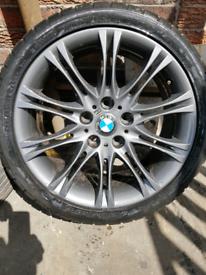 BMW MV2 gloss grey alloy wheel m sport 18 inch