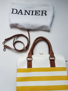 Danier - pebble leather satchel bag