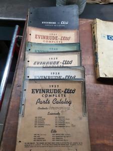 Evinrude/omc/law boy manuals