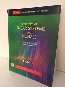 Principles of Linear Systems and Signals - 2nd Int. Ed.
