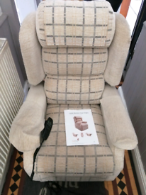 Selling three mobility rasing tilt recliner armchairs