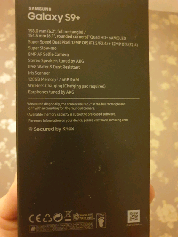 Samsung S9+ 128GB blue  Great condition  | in High Wycombe, Buckinghamshire  | Gumtree