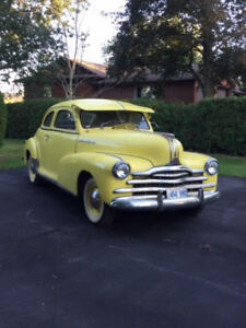 VINTAGE VEHICLE FOR SALE:  1948 Pontiac Sports Coupe