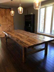 Gorgeous Live Edge Table
