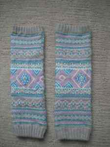 Girls Justice Leg Warmers One Size