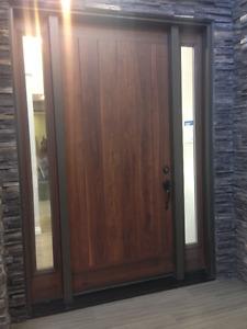 Beautiful brand new front door