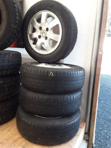 All Season and Winter Rims & Tires **Live and Online Auction**