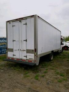 Liquidation boite de camion de 21 pied à seulement 1000$