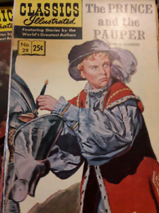 Vintage comic books for sale Classics illustrated i