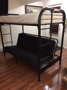 URGENT - LITS SUPERPOSÉS (FUTON)/ BUNK BED (FUTON)