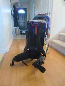 Backpack Baby carrier with detachable shelter