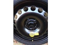 Space saver wheel (Vauxhall Corsa)