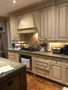 Used Designer Kitchen Cabinets  - Excellent Condition