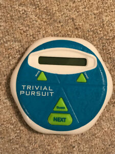 Trivial Pursuit Hints - Electronic Handheld Game