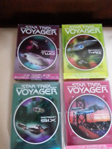 STAR TREK VOYAGER ... 4 SEASONS