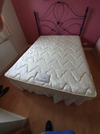 King size bed mattress