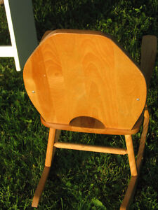 Small Child's Rocking Chair  Real Wood London Ontario image 3