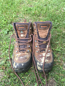 Men's Size 10.5 Dakota Steel Toed Work Boots
